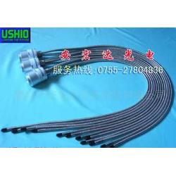 日本USHIO SP-7光源机光纤 AF-104NQ-X 4分支石英光纤图片