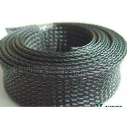 黑色编织网管图片