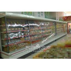 风幕柜 超市火腿冷藏柜 立式风冷柜 风冷风幕柜图片