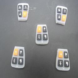 耐高温硅胶杂件生产 可开模硅胶异形件 硅胶塞 硅胶按键 定制图片