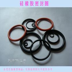 供应圆孔环保硅橡胶密封圈 防油耐磨带胶自粘 绝缘配件图片
