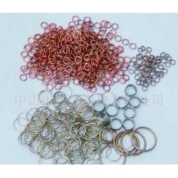汽车配件钎焊用银焊环及银焊条图片