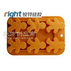 姜饼人硅胶蛋糕模/圣诞系列硅胶蛋糕模-锐特硅胶厂图片