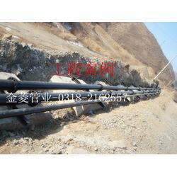 聚乙烯管_金菱管业_高强度耐磨聚乙烯管图片