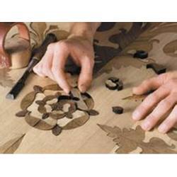 怎样选购木地板、艺术拼花木地板(在线咨询)、石家庄市木地板图片