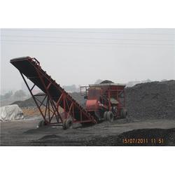 流动碎煤机器怎么卖|益阳流动碎煤机器|移动湿料粉碎机设备供应图片
