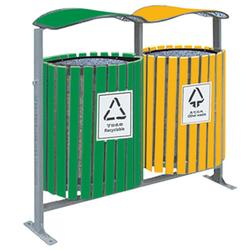 户外环保垃圾桶-环保垃圾桶-有美工贸实惠(查看)图片