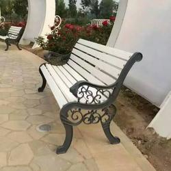 木塑公园椅|公园椅|鸥鹏鹰图片