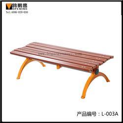 普洱塑木园林椅子_【鸥鹏鹰】_塑木园林椅子定制图片