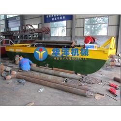 河南 挖泥船,华洋矿沙机械,供应挖泥船图片
