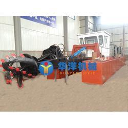 抽沙船-华洋矿沙机械(已认证)射吸抽沙船图片