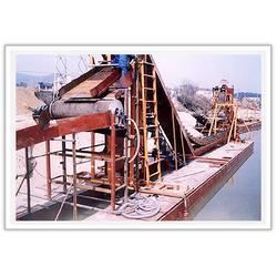 磁选铁砂船、磁选铁、华洋矿沙机械(查看)图片