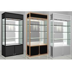 展示柜、3分方柱组合柜 展示柜、合邦展具(优质商家)图片