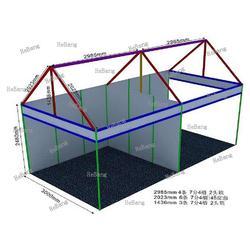 合邦展具 标摊材料PVC展板-陕西标摊材料图片