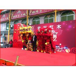 中式婚礼舞狮表演-佛山传承龙狮文化-博罗舞狮表演图片