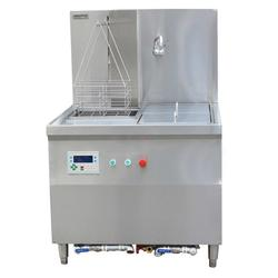 中山自动浸鸡炉、钜兆电磁炉、厂家定制加大自动浸鸡炉图片