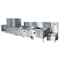 明档厨房、明档厨房电磁炸锅炉、钜兆电磁炉(多图)图片