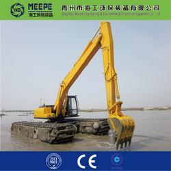两栖挖掘机水上挖机、青州海工、两栖挖掘机图片