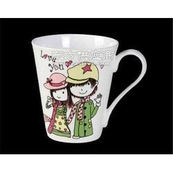 供应广告陶瓷马克杯 广告杯定制LOGO 创意陶瓷杯子礼品杯咖啡杯图片