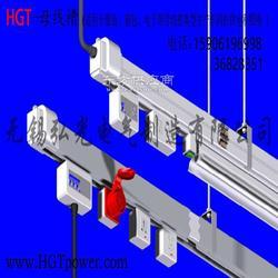 HGT照明供电母线槽 服装厂照明母线供电桥架 灯架使用安全美观节电图片