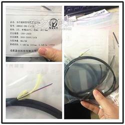 2芯超轻型野战光缆每公里8KG拉力1500N盈极光电专利产品图片