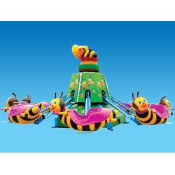 新型游乐设施(图) 游乐场旋转小蜜蜂 驻马店旋转小蜜蜂图片