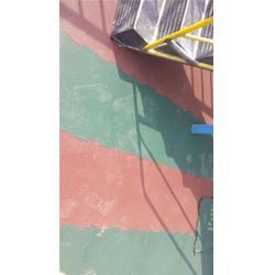新鲁中塑胶铺设(图)_地胶跑道_地胶图片