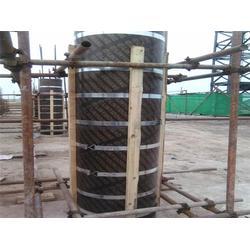 木質圓模板安裝便捷-木質圓模板-棟航建筑圓模板廠家圖片