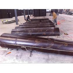 栋航建筑圆模板厂家、圆柱木模板、栋航圆柱木模板图片