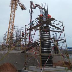 建筑圆柱模板销售厂家、建筑圆柱模板、栋航建筑圆模板厂家图片