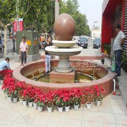 园林景观雕塑石雕风水球加工定做 公园 广场 小区 酒店门口摆放图片