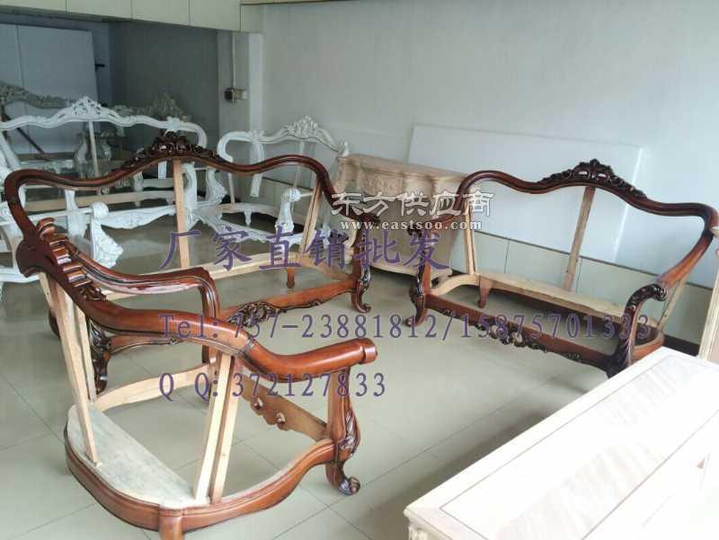 客厅欧式木架 小美款 美式沙发架