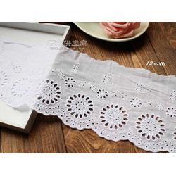 华利隆棉线对花-棉线水溶花边-棉线条码厂家图片
