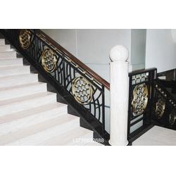 【上海饰优亿家】|上海欧式铁艺楼梯定制|上海铁艺楼梯图片