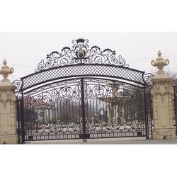 上海饰优亿家、上海专业欧式铁艺大门制造商 、上海欧式铁艺大门图片