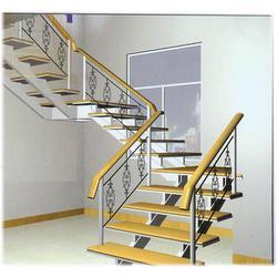 【上海饰优亿家】(图)上海专业钢架楼梯生产厂家、上海钢架楼梯图片