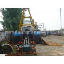 山東永利礦沙機械-液壓挖泥船-液壓挖泥船工作原理圖片