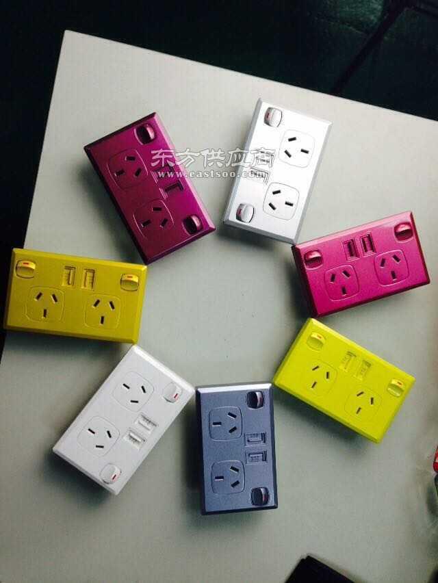 澳规插座USB充电插座图片