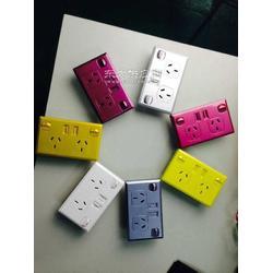 彩色澳规USB插座图片