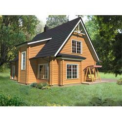 云南休闲木屋,绿洁森木业实惠,休闲木屋价钱图片