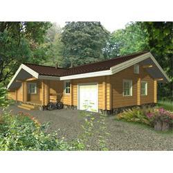 绿洁森木业质量稳定 休闲木屋商-舟山休闲木屋图片