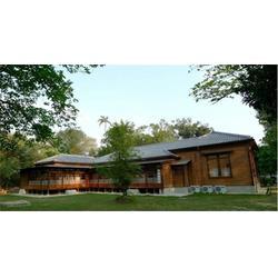 绿洁森木业质量可靠 活动木屋别墅-杭州木屋别墅图片