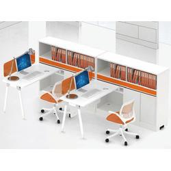 屏风隔断办公桌安装 华凯办公家具 屏风隔断办公桌图片