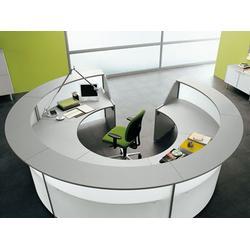 东城办公前台-定做办公家具哪家便宜-办公前台桌子图片