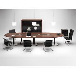 加工厂家办公会议桌|办公会议桌子|华凯-办公家具生产厂家图片
