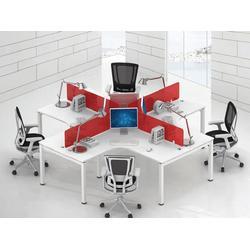 买办工桌到华凯家具(图)|组合式办公桌3人|组合式办公桌图片