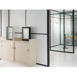 办公隔墙,木制办公隔墙,华凯-办公家具供应商(多图)图片