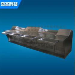 钣金不锈钢操作台、不锈钢操作台、广州奇圣图片