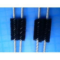 滚筒抛光刷定做、毛刷加工哪家便宜、威海滚筒抛光刷图片