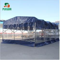 江苏推拉帐篷|齐鲁帐篷 户外|仓库式推拉帐篷图片